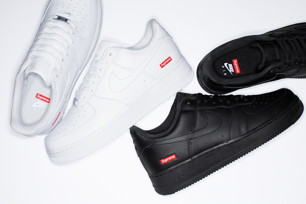 chico Sinfonía partes  Supreme x Nike Air Force 1 Low