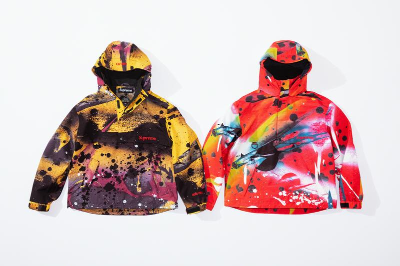 supreme rammellzee spring 2020 collection graffiti artist new york city gore tex jacket sweatshirt pants t shirt release date info photos price
