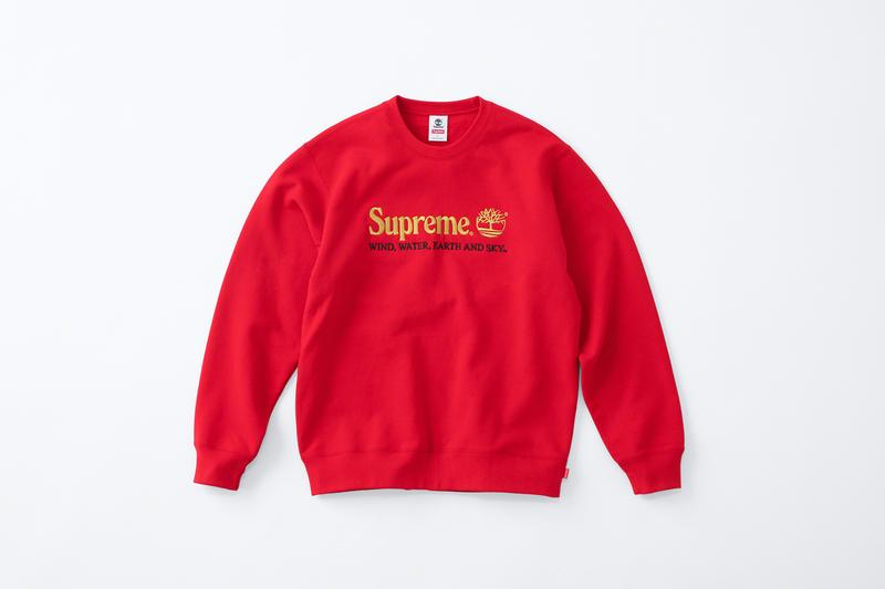 Supreme Timberland Spring 2020 Collection Euro Hiker Low Crewneck 6 Panel Hat Cap recycled rubber patent leather