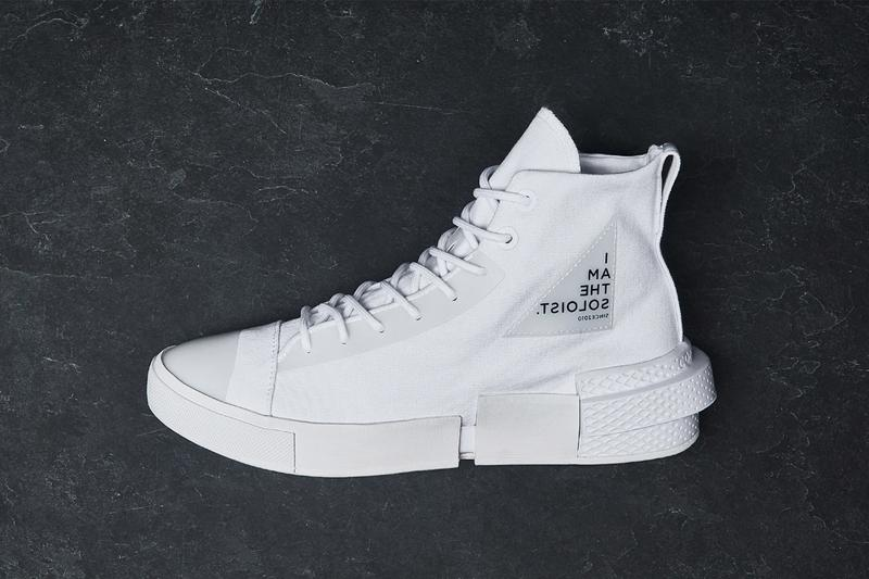TAKAHIROMIYASHITATheSoloist. x Converse CX Disrupt White Black Sneaker Release Information Collaboration Takahiro Miyashita Japanese Designer Footwear Sole Unit Chunky Split Technical Branding Rubber Components