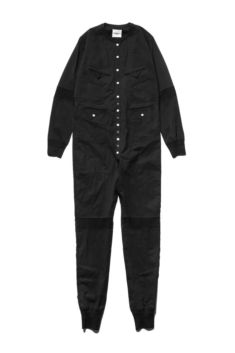 TAKAHIROMIYASHITATheSoloist Inside Out Jumpsuit menswear streetwear spring summer 2020 collection overalls boiler suit flight suit jacket garment military cupra japanese designer