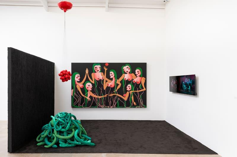 the armory show platform artists christine wang night gallery nancy kienholz edward kienholz installations paintings