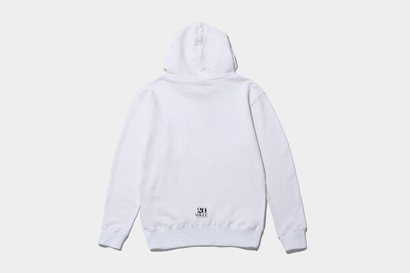 THE CONVENI fragment design Vogue Japan Capsule collection 20th anniversary Hiroshi Fujiwara tshirt hoodie black white milk carton convenient store