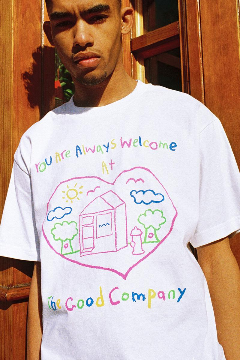 The Good Company Spring/Summer 2020 Collection Lookbooks Crewnecks Hoodies T-shirts Long Sleeves Tote Bags Bucket Hats Caps Dog Embroidery Chill Wave