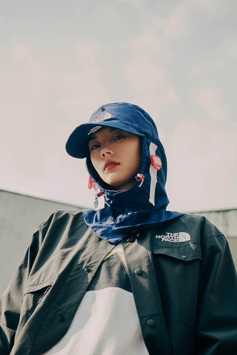 "The North Face Urban Exploration Spring/Summer 2020 ""The Future City"" Capsule 03: Kazuki ""Lemon"" Lookbook Release Information Outerwear Technical Tops Shirts Kazuki Kuraishi TNF"