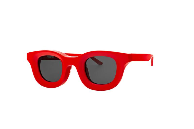 """RHUDE x Thierry Lasry """"Rhodeo"""" Sunglasses Collection Tortoise Checkerboard Print White Yellow Red Green Honey Red Translucent Gray spring summer 2020 ss20"""