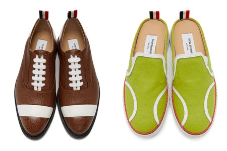 Thom Browne Disguises Its Footwear as Sports Balls