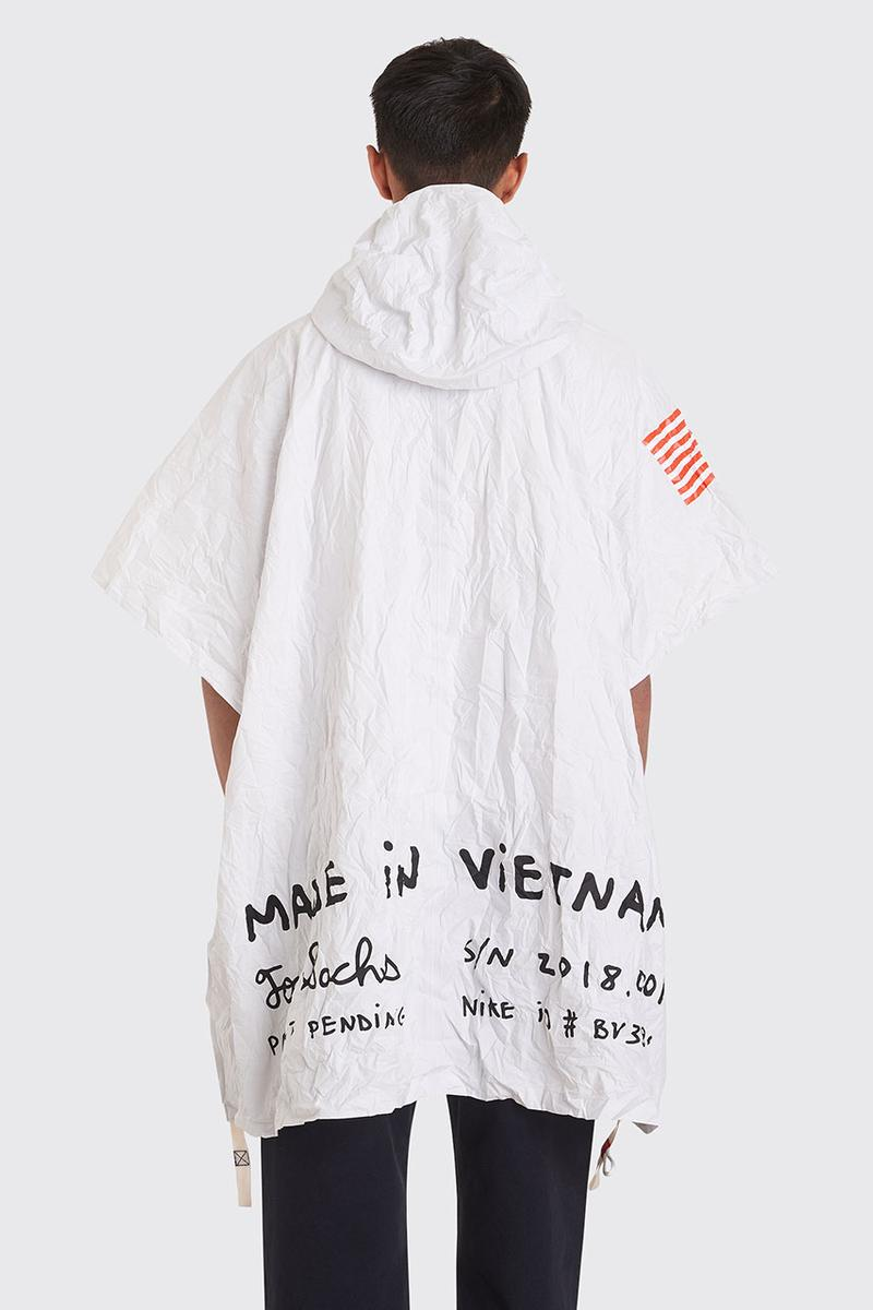 Tom Sachs x NikeLab Poncho/Pouch Très Bien Drop release date info buy exploding