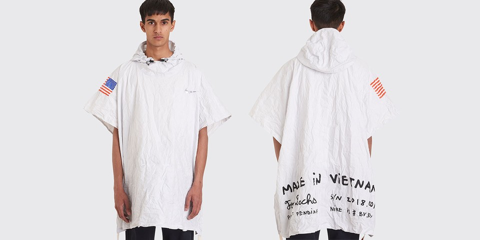 Très Bien Launches Tom Sachs x Nike Packable Poncho