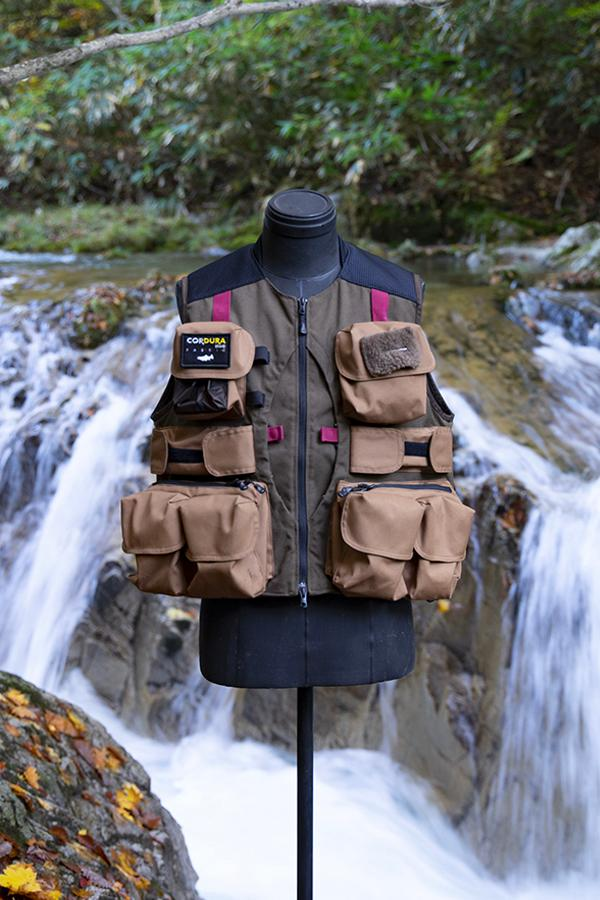 TONEDTROUT x Snow Peak Spring Summer 2020 collection  fly fishing man of moods Masakazu Fukuyama japan vests outdoors