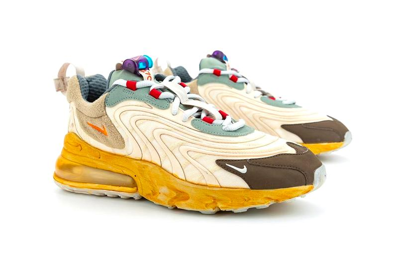 Travis Scott Nike Air Max 270 React Release Date CT2864-200 Info Price Buy Cactus Jack