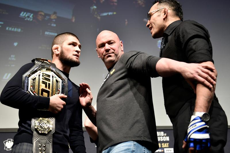 UFC 249 Tony Ferguson Khabib Nurmagomedov Cancelled Rumor Dana White Info Fifth Time Location Why