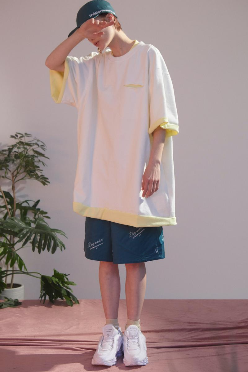 "UMAMIISM Spring/Summer 2020 Lookbook Collection Jackets Short Sleeves Pants Pockets Vests ""City Romance"" Mesh Basketball Vest"