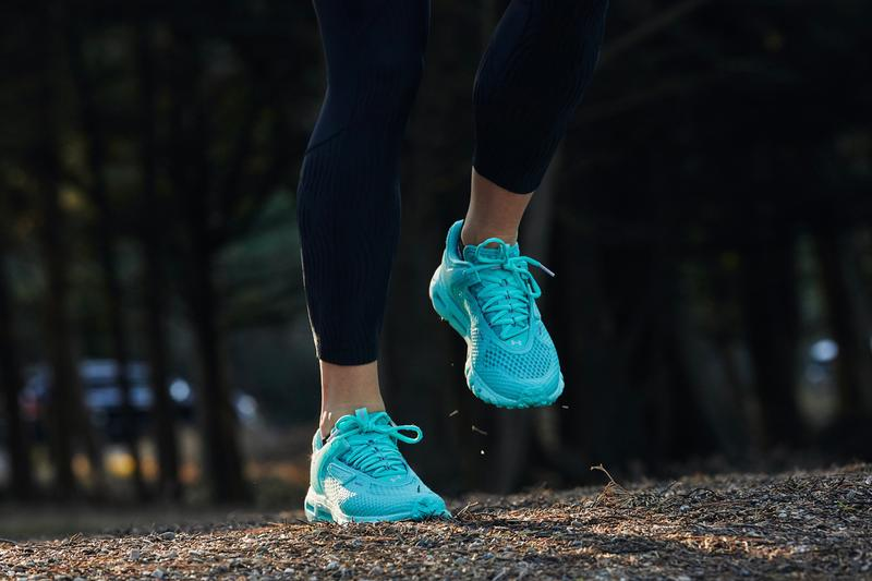Under Armour UA Summit Apparel, Footwear Collection capsule hovr sneaker shoe menswear womenswear runner trail march 2020 release date may