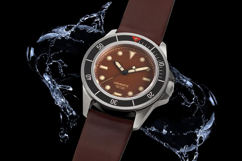 UNIMATIC x Massena LAB Modello Uno Ref. U1-ML6 watches timepiece italian dive watch seiko