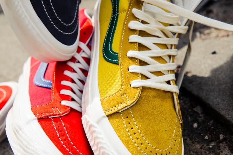 BILLY'S Exclusive Vans Vault OG SK8-HI LX Release VN0A4BVBXEM VN0A4BVBXEO VN0A4BVBXEN Tokyo Boutiques Anaheim Surf Skate waffle sole shoes kicks footwear exclusive California Slip-ons Vans Vault Van Doren