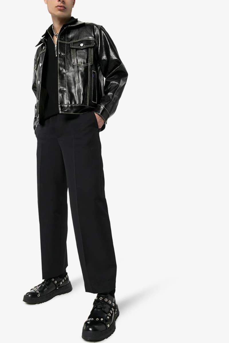 Versace Black BDSM Straps Leather Derby Shoes Drop Submits Dominates Studs Browns Fashion punk rock fetish