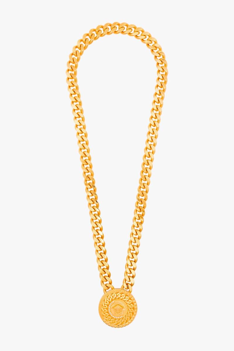 Versace Gold Medusa Medallion Chain Bracelet Release Info Buy Price Browns