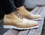 Viberg's Latest Service Boot is Tanned in Olive Oil