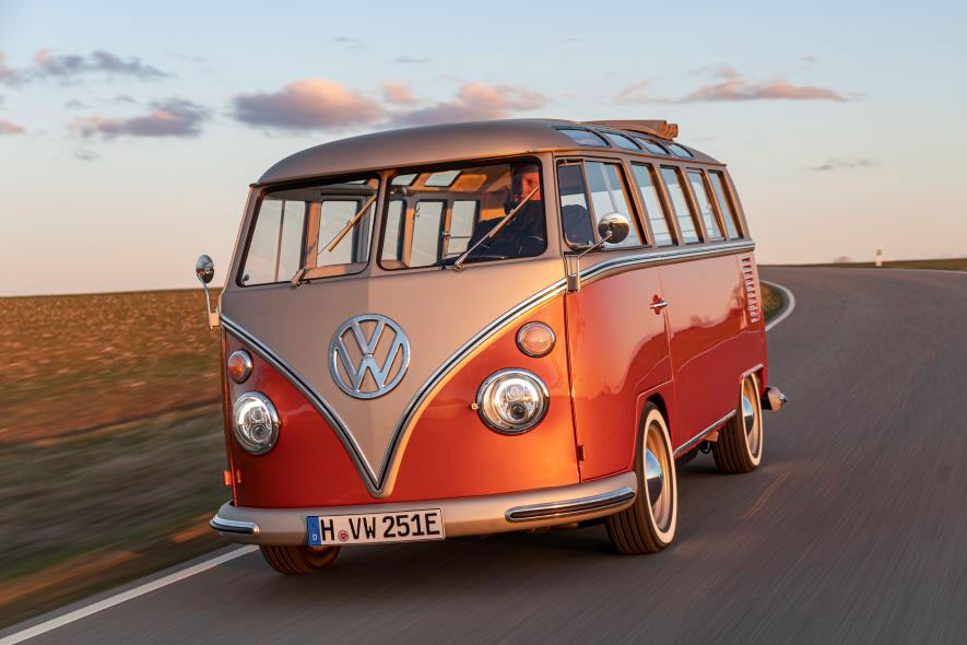volskwagen ebulli concept electic microbus car vehicle automotive