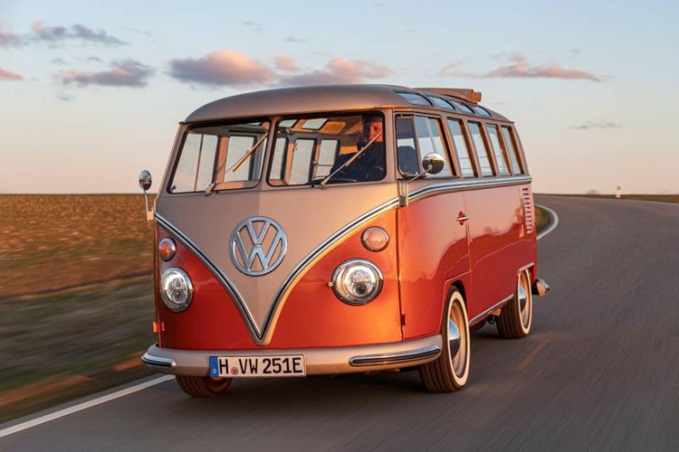 Volkswagen Unveils e-BULLI Electric Microbus