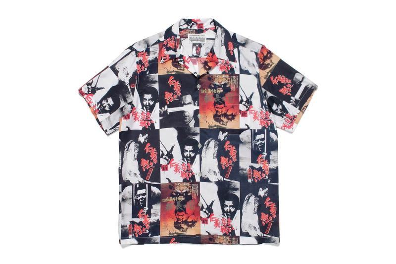 WACKO MARIA Battles Without Honor and Humanity Hawaiian Shirts short sleeve button ups graphics Kinji Fukasaku japanese streetwear menswear spring summer 2020 collection