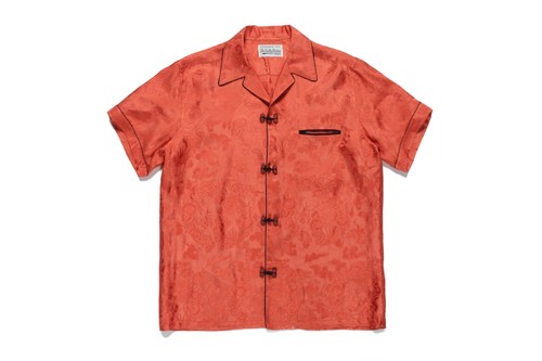 WACKO MARIA Drops Silky Mandarin-Style Hawaiian Shirts