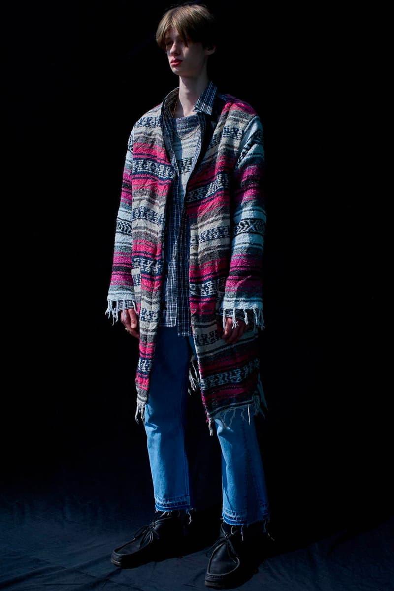WEYEP Spring/Summer 2020 SS20 Collection Lookbook japanese fashion heritage collegiate wear americana patchwork