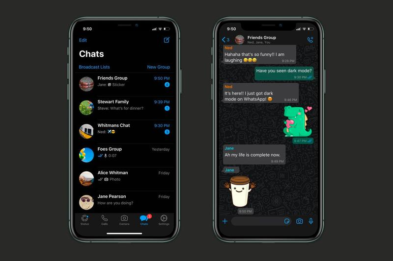 Whatsapp Darkmode iOS Android Launch Info How