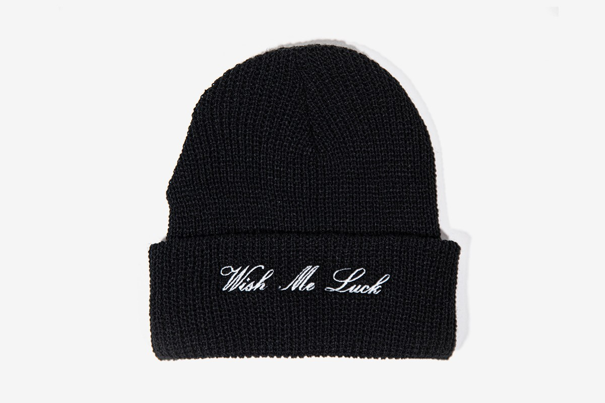 WISH ME LUCK COLLECTION 02 Release mask t-shirt thong lighter beanie crop top