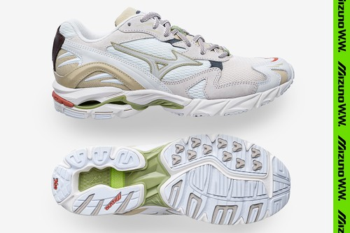 """Wood Wood Announces Limited-Edition Mizuno Wave Rider 10 """"02 Edition"""""""