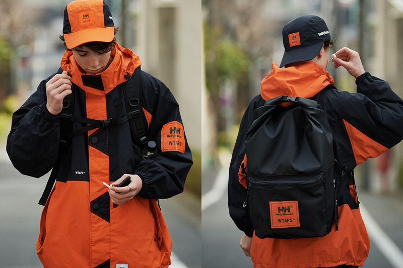 WTAPS x Helly Hansen Spring/Summer 2020 Collaboration collection ss20 G353-Cruising Jacket japan goldwin backpack hat release date info lookbook t-5 01 OFFSHORE bag