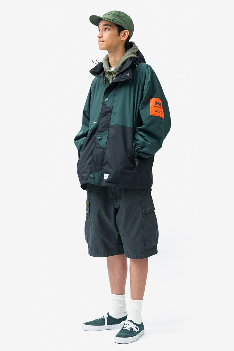 WTAPS Spring Summer 2020 Lookbook menswear streetwear collection jackets coats t shirts sweaters hoodies shorts pants military inspired tetsu nishiyama tokyo styles looks