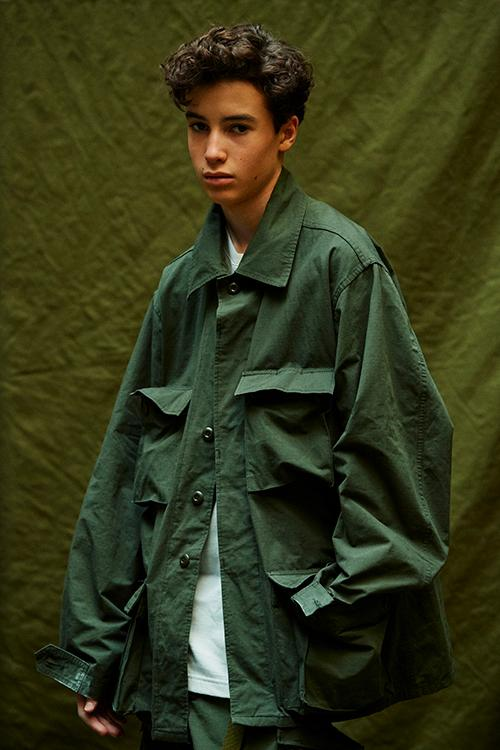WTAPS Spring Summer 2020 MILL UNIFORMS Lookbook menswear streetwear japanese military testu nishiyama diffusion line field jackets shirts cargo pants bdu bermuda olive