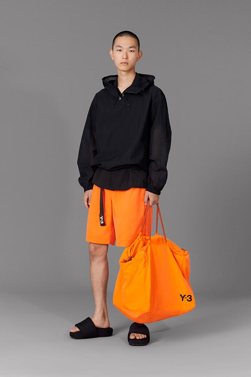 "adidas Y-3 Spring/Summer 2020 Collection Drop Four ""Swim"" Yohji Yamamoto Release Information Beachwear Mens Womens Slides Bikini Trunks Towels Bags T-Shirt Sandal"