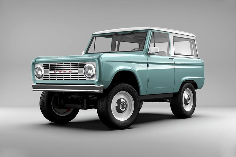 Zero Labs Unveils All-Electric Ford Bronco Restomod ev 600 horsepower factory license steel