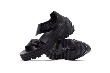 1017 ALYX 9SM Delivers Hefty Vibram Sandals
