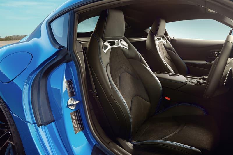 2021 Toyota GR Supra Horizon Blue Japan Exclusive 382 horsepower images photos info 100 units only