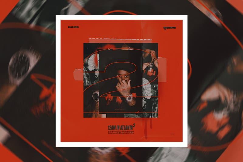 24hrs & DJ Drama '12 AM in Atlanta 2' Album Stream hip-hop rap R&B listen now spotify apple music