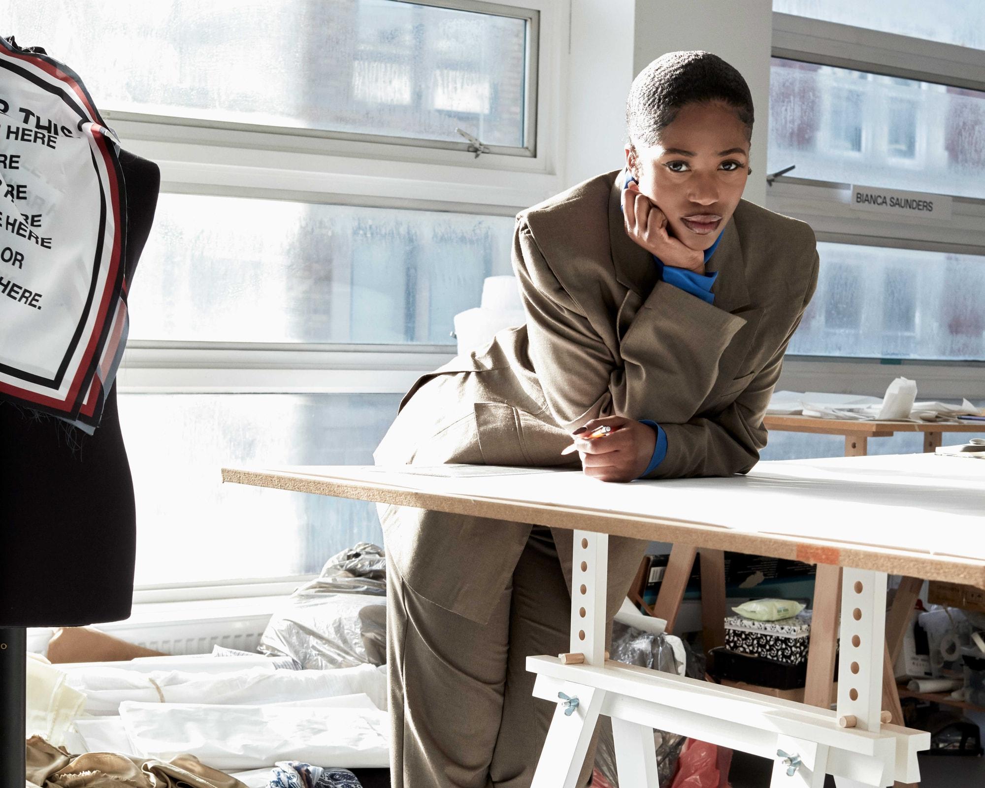 Bianca Saunders Menswear London Designers Spring Summer 2020