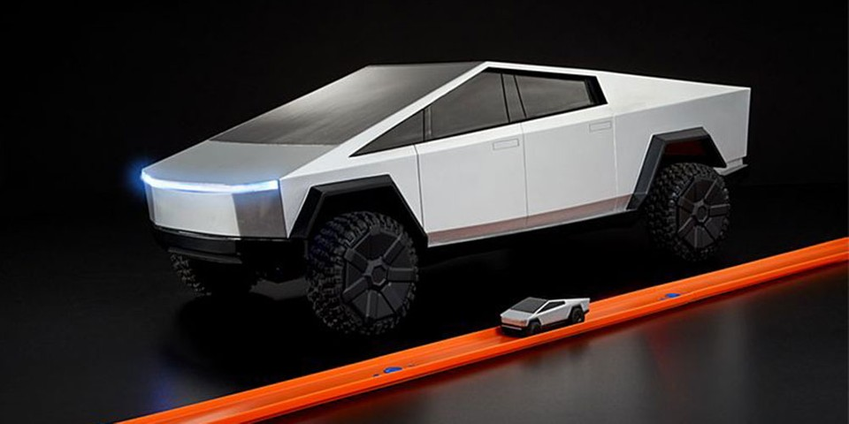 Pre-Order the Hot Wheels 1:64-Scale R/C Tesla Cybertruck Now
