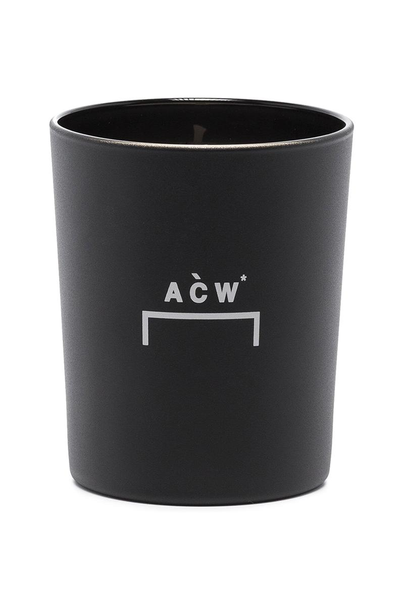 """A-COLD-WALL* Scentless Candle Samuel Ross Work From Home WFH Homeware Goods Scents Smells Browns Decor Accessories Release Information """"FIBERGLASS"""""""