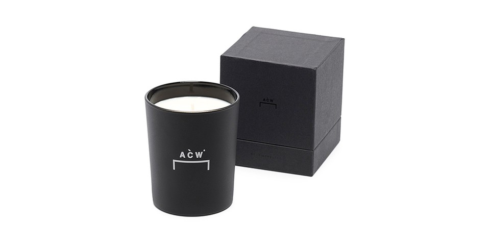 A-COLD-WALL* Drops $69 USD, Bracket-Branded Scentless Candle