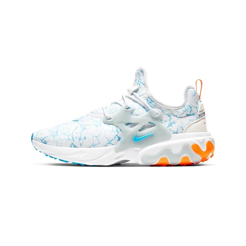 """Nike React Presto Premium """"Aura/Blue Fury"""" Release 2020 Where to Buy"""