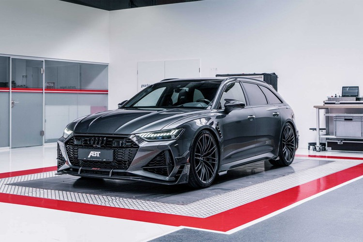 ABT Sportsline Pushes the Audi RS6 Avant up to 690 Horsepower