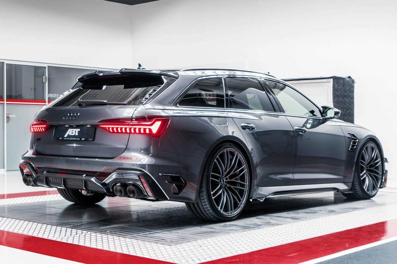 abt sportsline audi rs6 r avant five door hatchback limited edition 125 units racing 690 horsepower