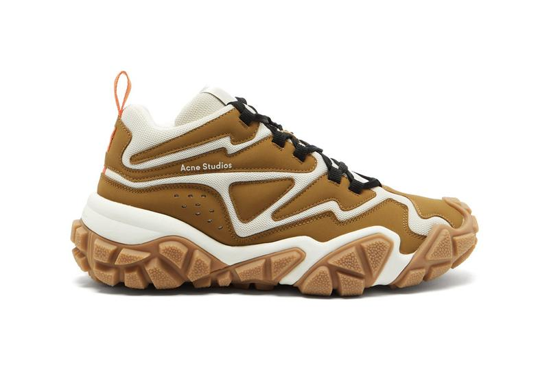 Acne Studios Chunky Sole Trainer Suede Mesh