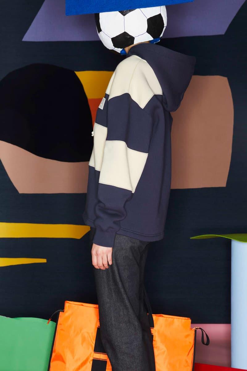 Acne Studios FW20 fall winter 2020 Face Collection Lookbook swedish menswear womenswear imprint basics knits jersey fleece face patch