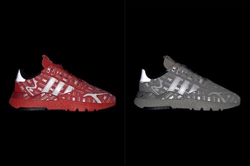 adidas Unveils 3M Scotchlite-Covered Nite Jogger Pack