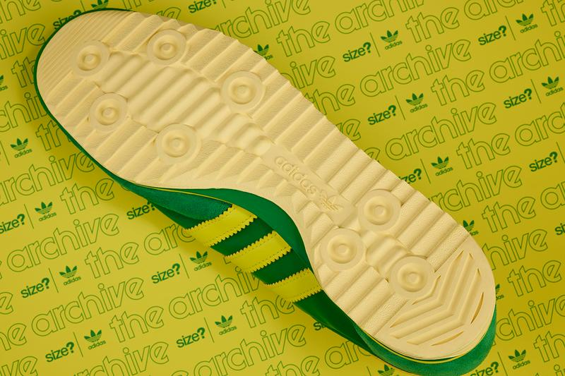size? adidas originals SL76 green yellow buy cop purchase details release information collaboration